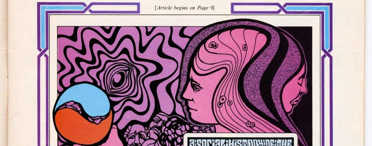 Murió Wes Wilson, creador de los pósters psicodélicos