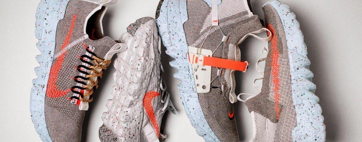 Nike lanzó sneakers Space Hippie hechos con basura