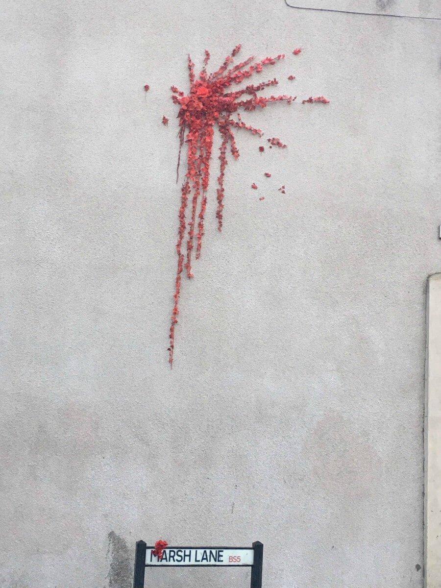 Nuevo graffiti de Banksy