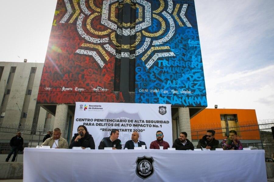 Nuevos murales buscan borrar estigmas