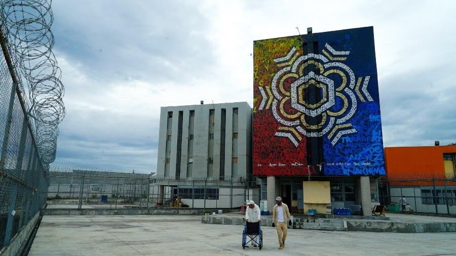 Los murales buscan borrar estigmas