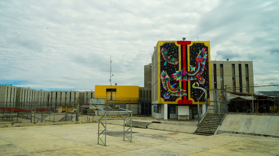 Nuevos murales en cárcel Michoacán