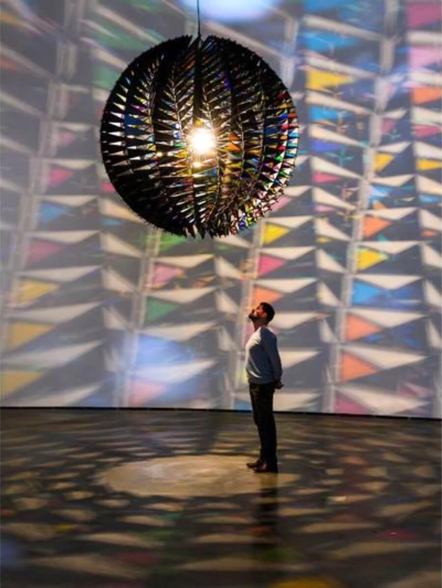 El artista llega con expo a Bilbao