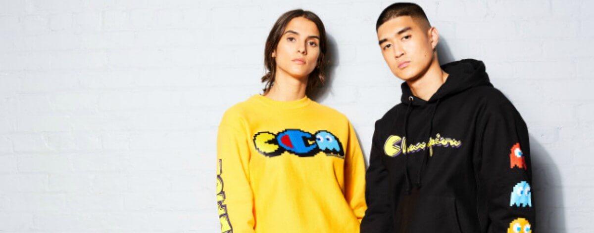 Pac-Man x Champion lanzan colección de aniversario