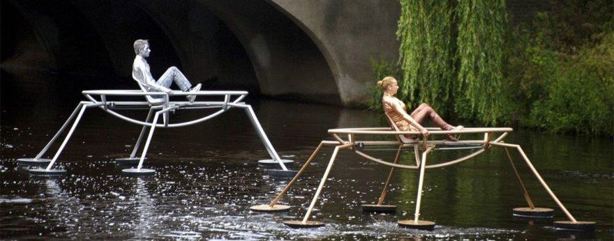 Obra de El Bosco, inspiración para performance flotante