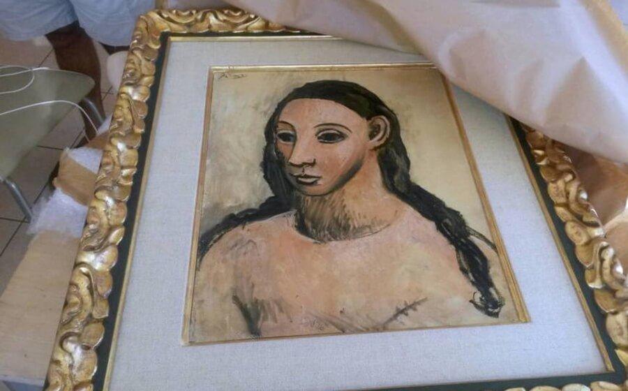 La pintura iba a ser vendida en Christie's