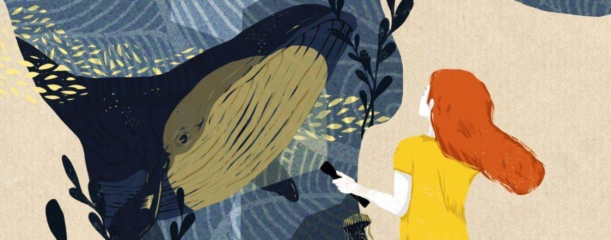 Silvia Stecher, la ilustradora de las texturas