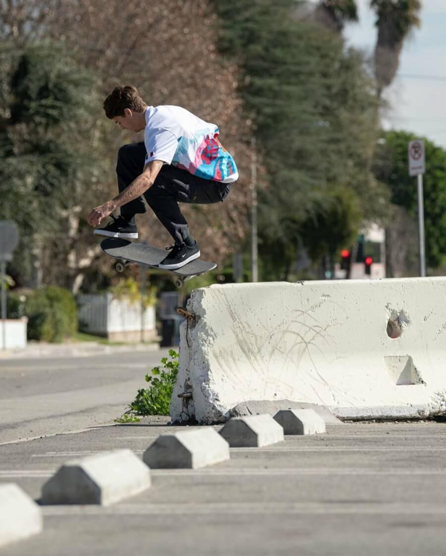 Skateboarding en Tokio