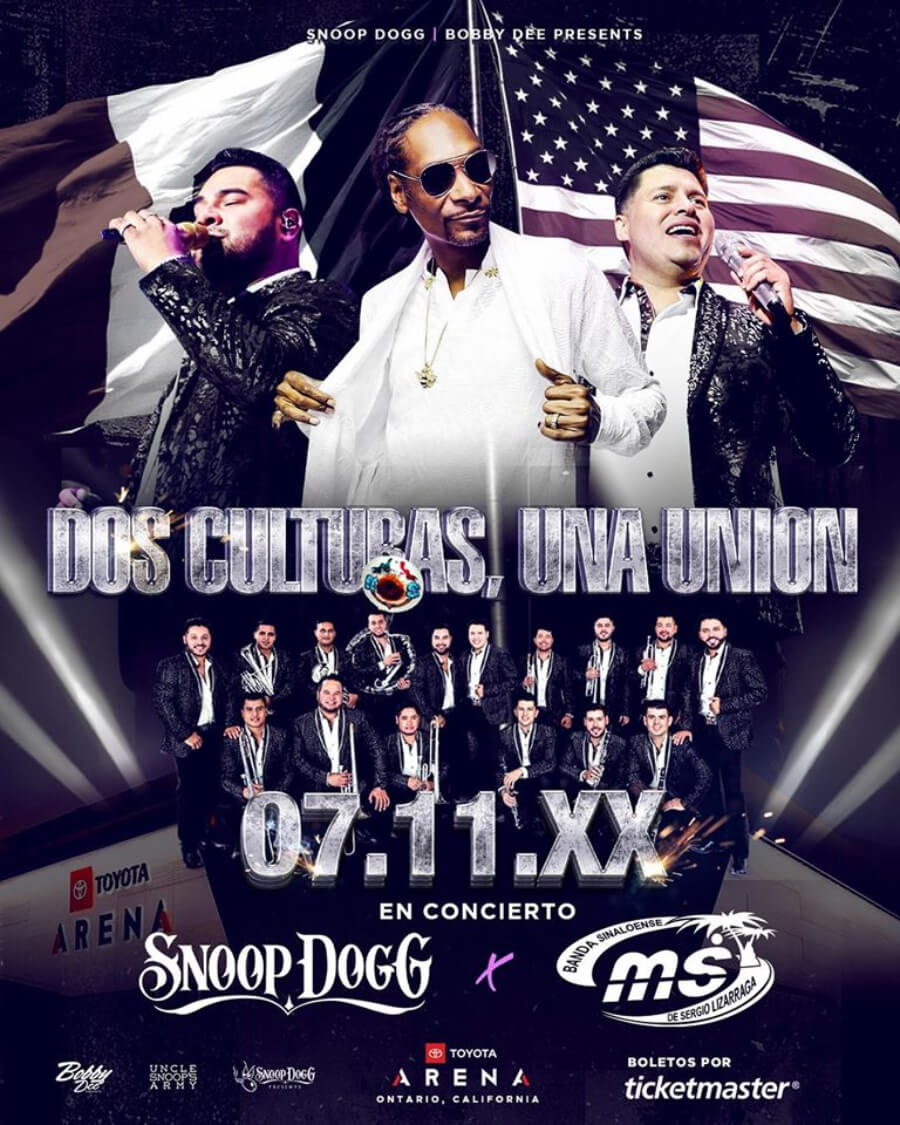Banda MS and Snoop Dogg