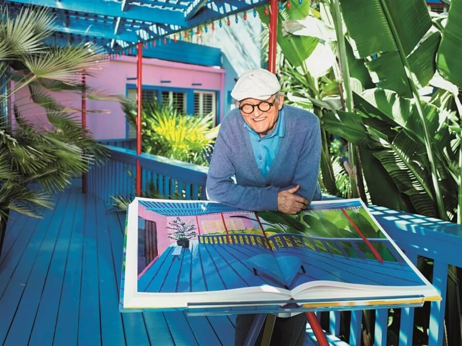 Subastan The Splash de David Hockney