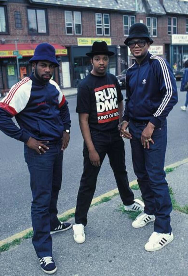 Superstar with Run-DMC, the latest by adidas