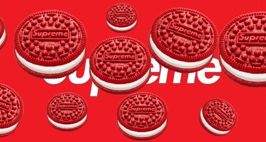 Supreme y Oreo lanzan sus propias galletas