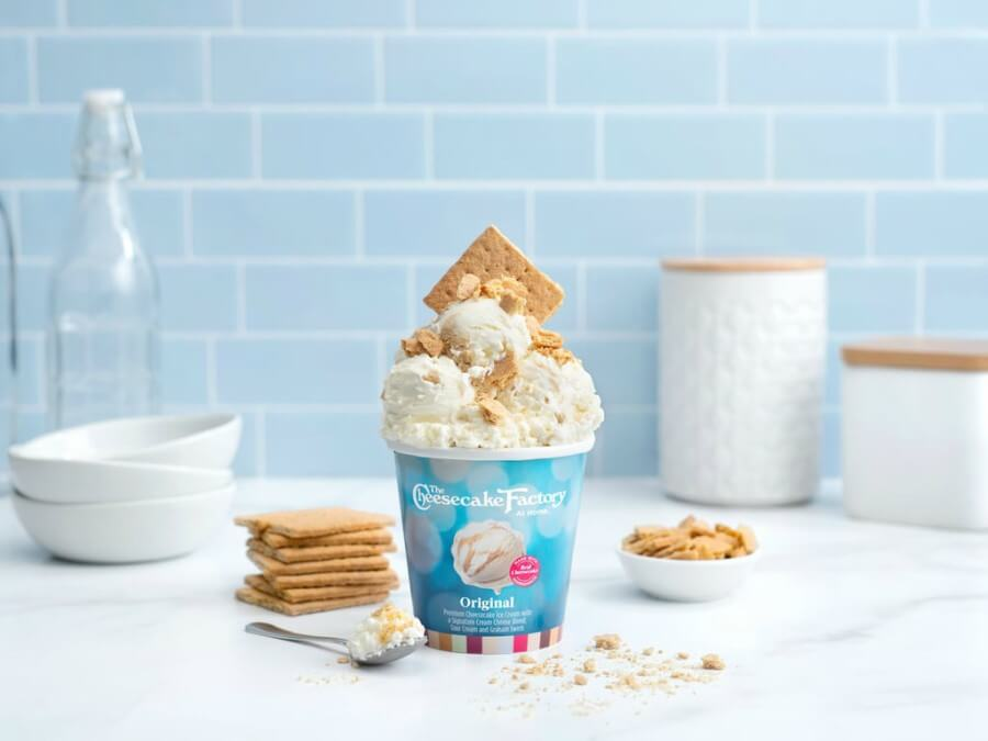 The Cheesecake Factory presenta sus nuevos helados