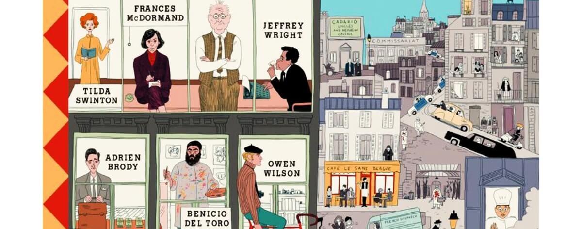 The French Dispatch de Wes Anderson estrena cartel oficial