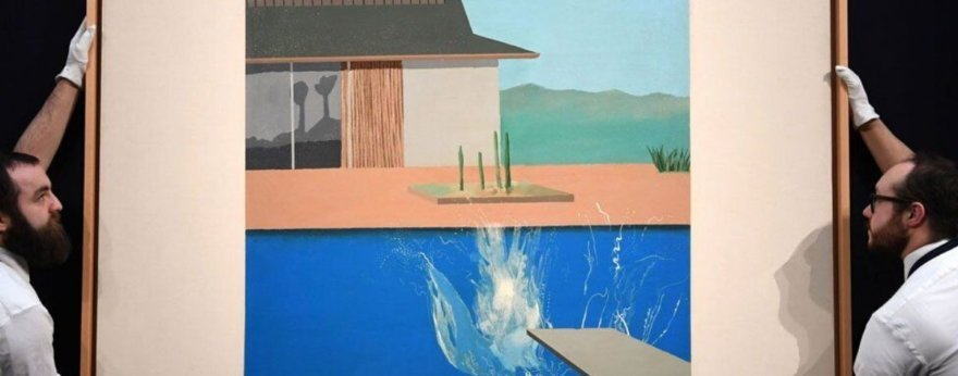 Subastan The Splash de David Hockney por 28 millones de euros