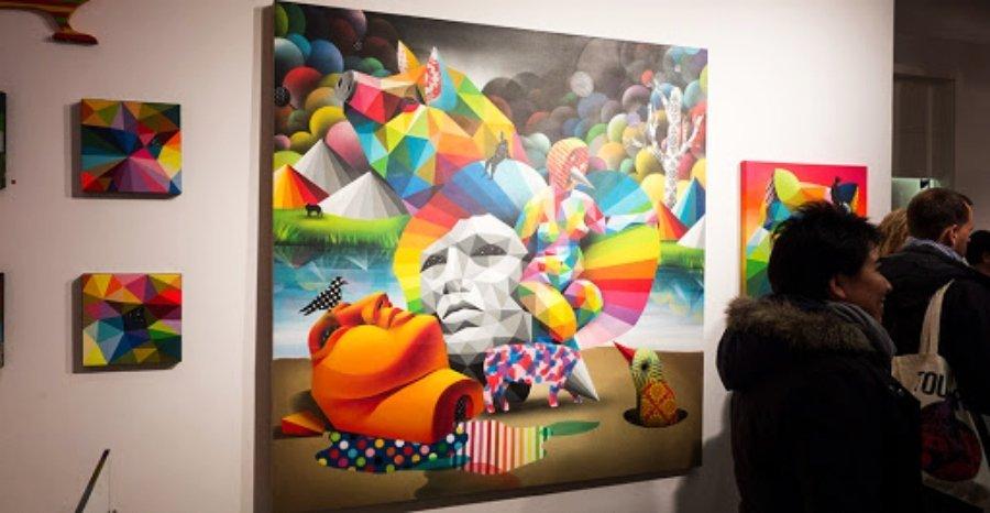El proyecto de Okuda llegan a galería Kreisler