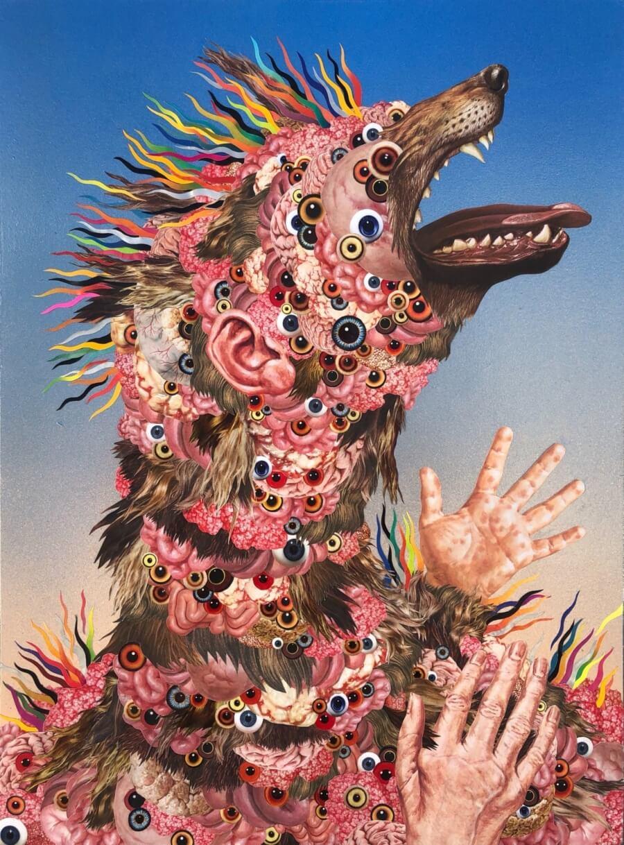 Theriomorphism de Okuda llegan a galería Kreisler