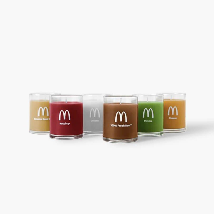 Velas de hamburguesa