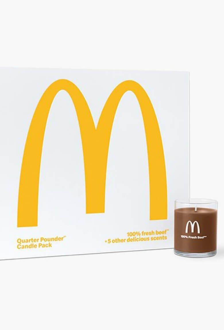 Velas de hamburguesa por McDonald's