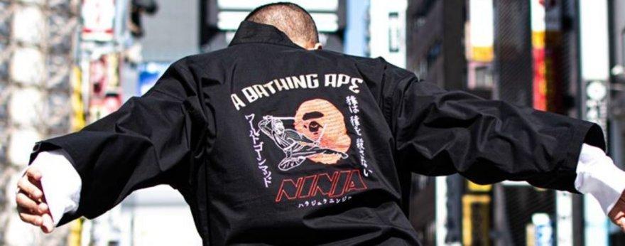 Bape estilo ninja, lo nuevo para la colección SS20