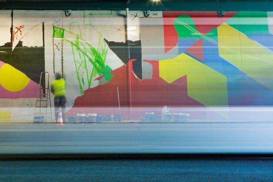 Cornellà Centre estrena un nuevo mural de MurOne