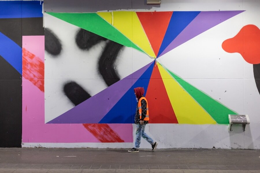 Nuevo mural de MurOne