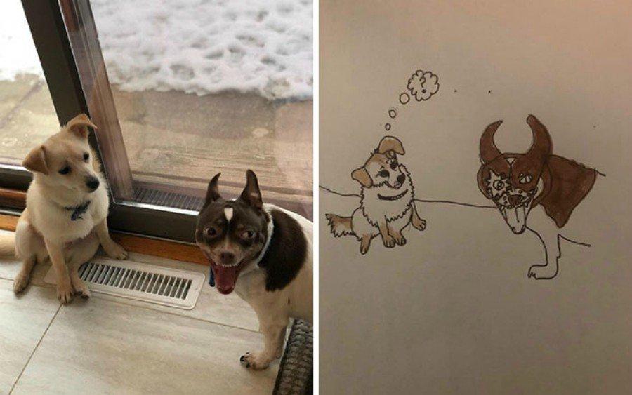 Dibujos de mascotas