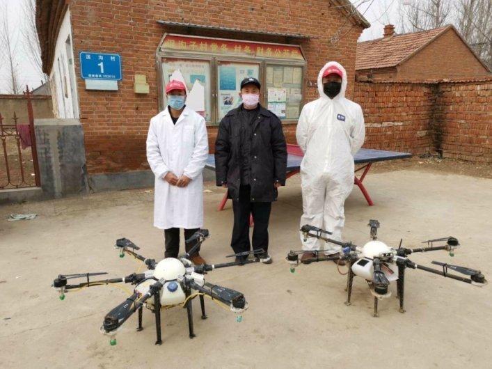 drones y robots