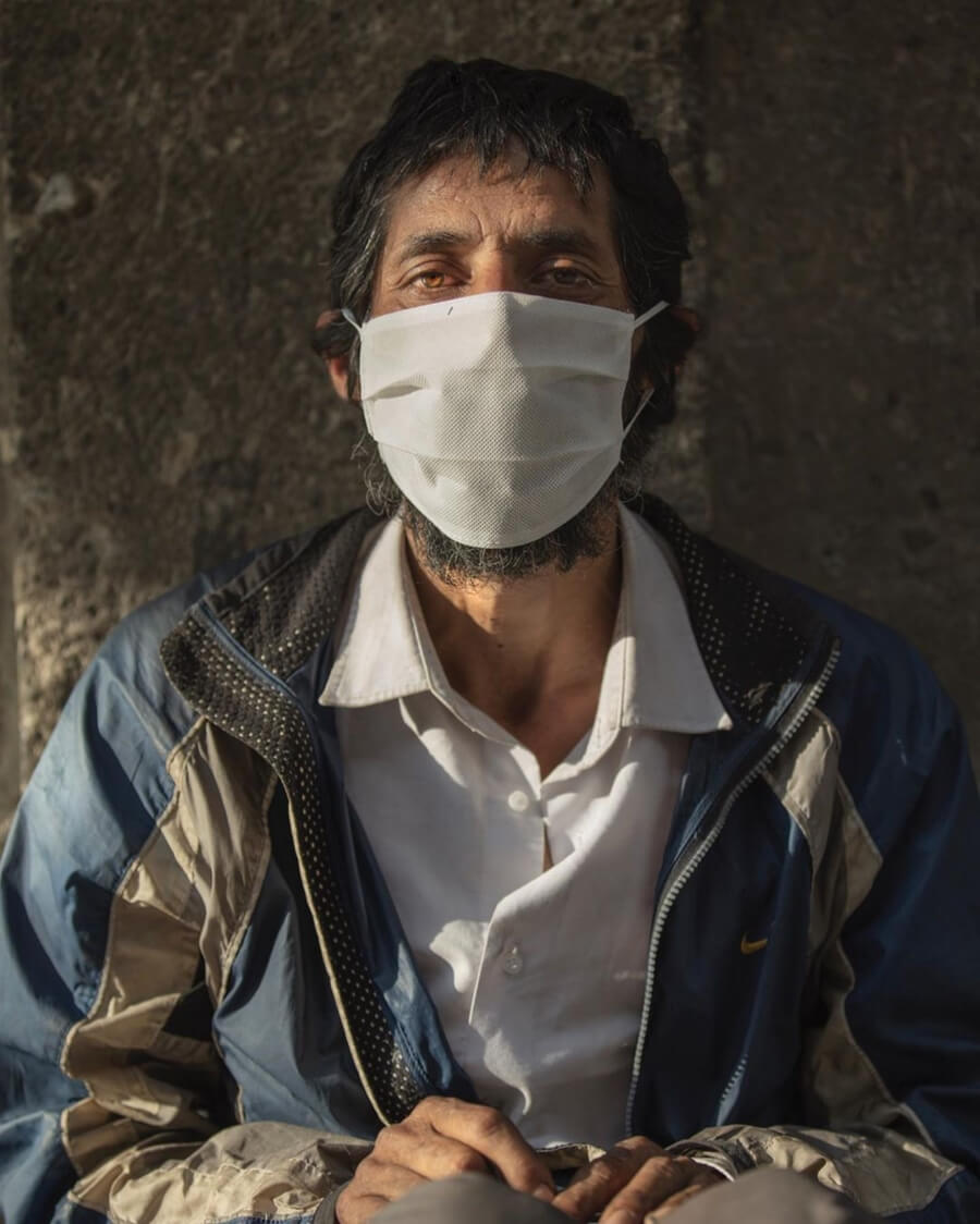 El Coronavirus en la lente de Santiago Arau