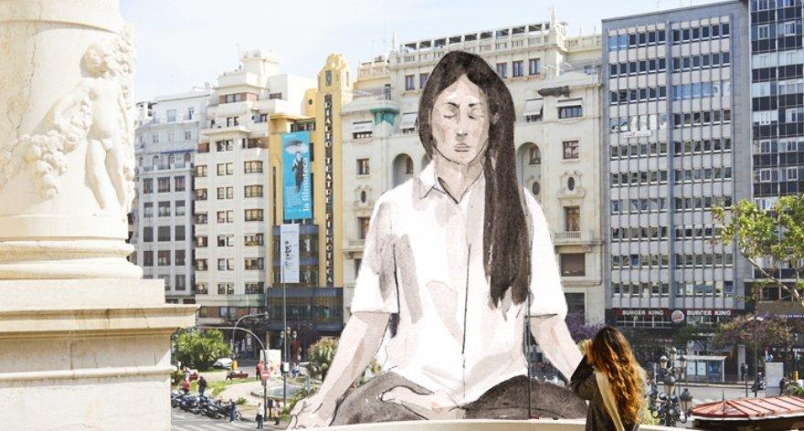 Escif creará obra en la falla municipal de Valencia 2020