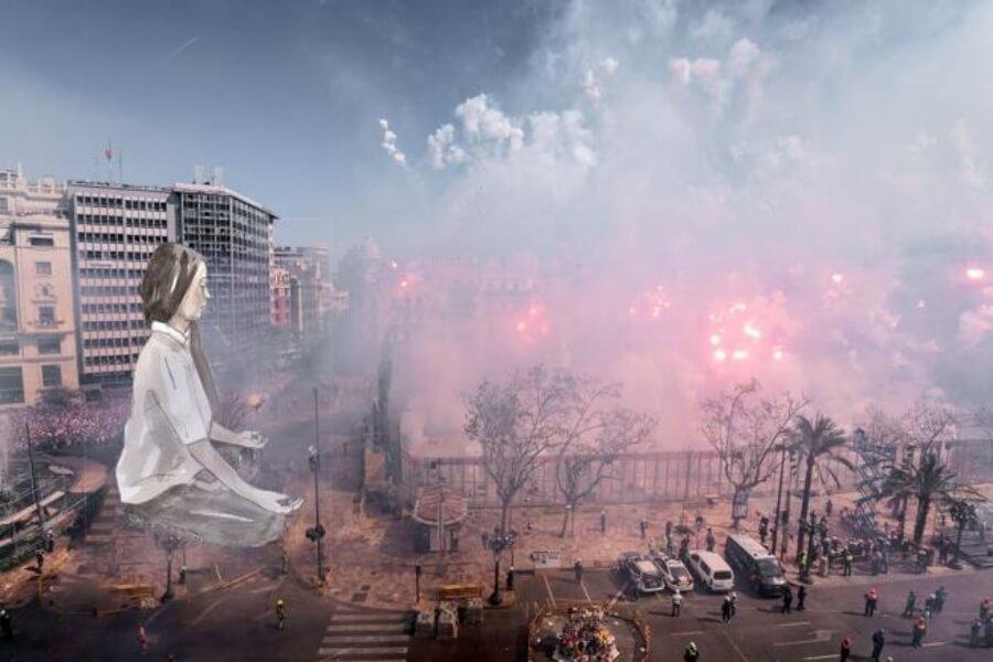 Escif creará obra en falla de Valencia