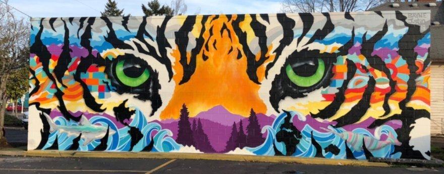 Eugene, un destino obligado para los fans del street art