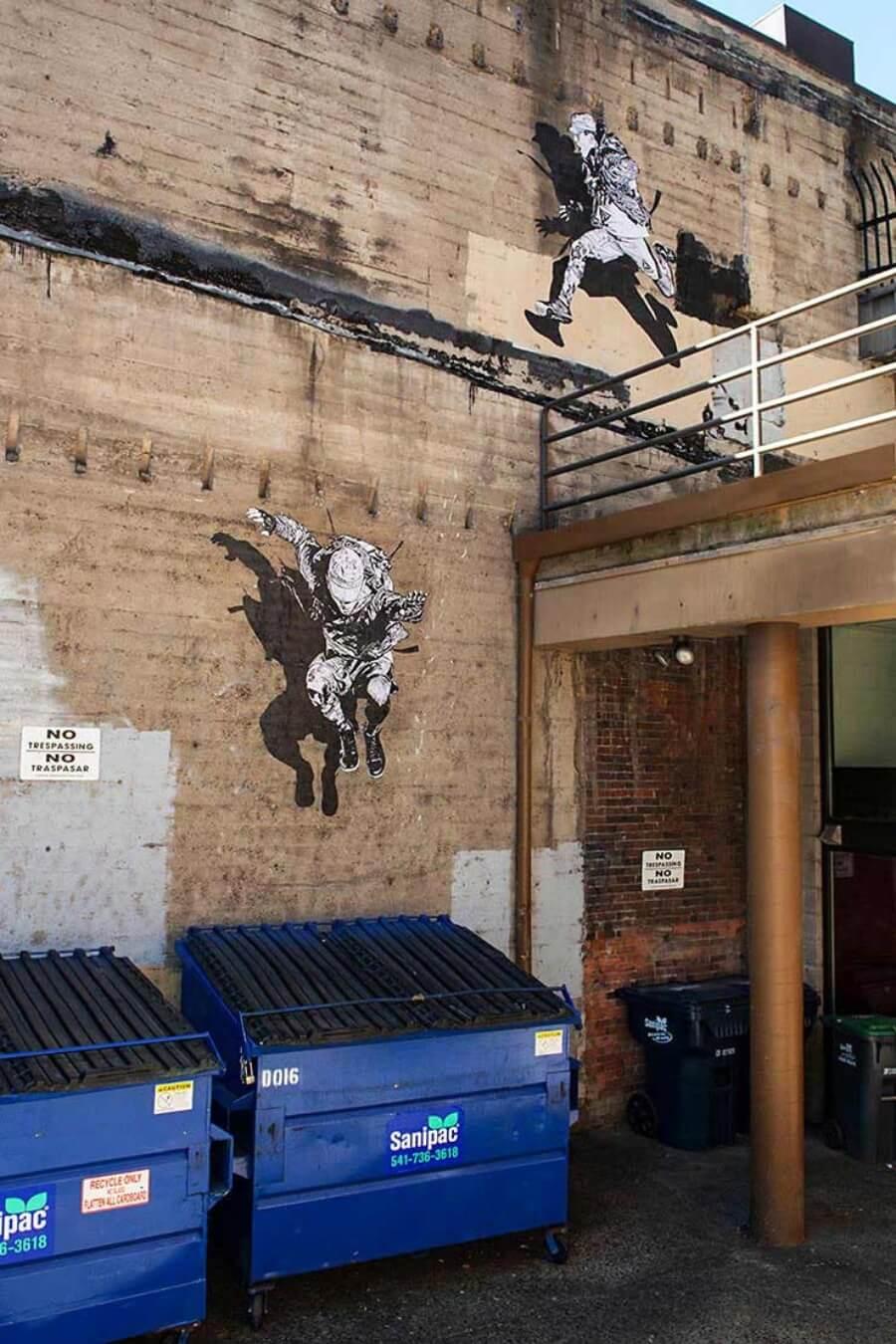 Eugene, una ciudad con mucho street art