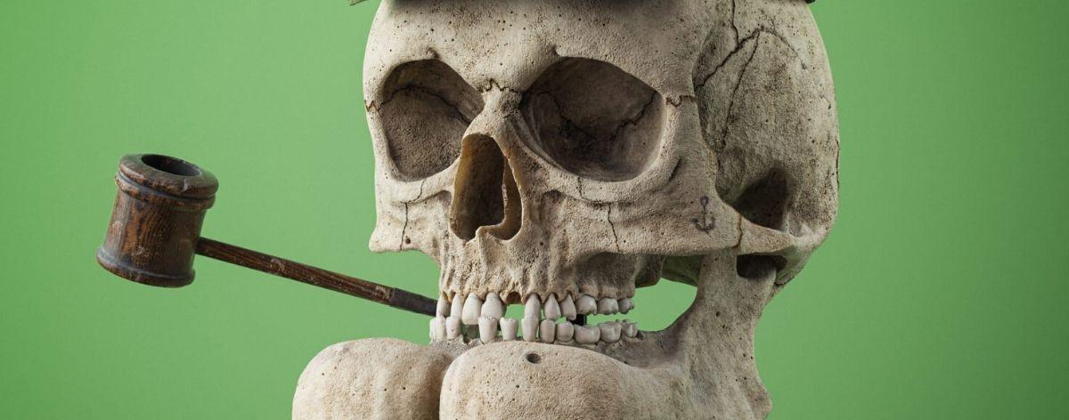 Filip Hodas creates skulls of famous cartoons