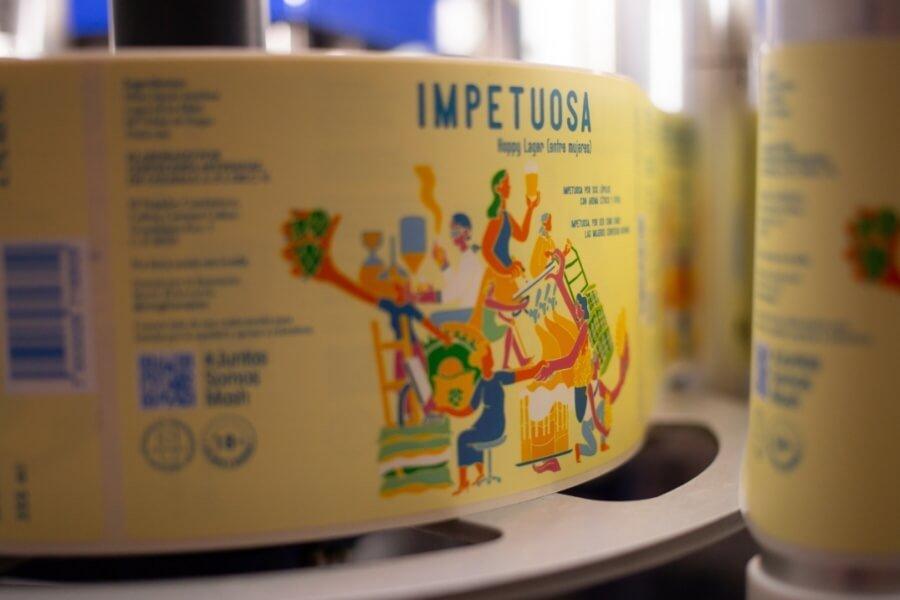 Cerveza Impetuosa hecha por mujeres