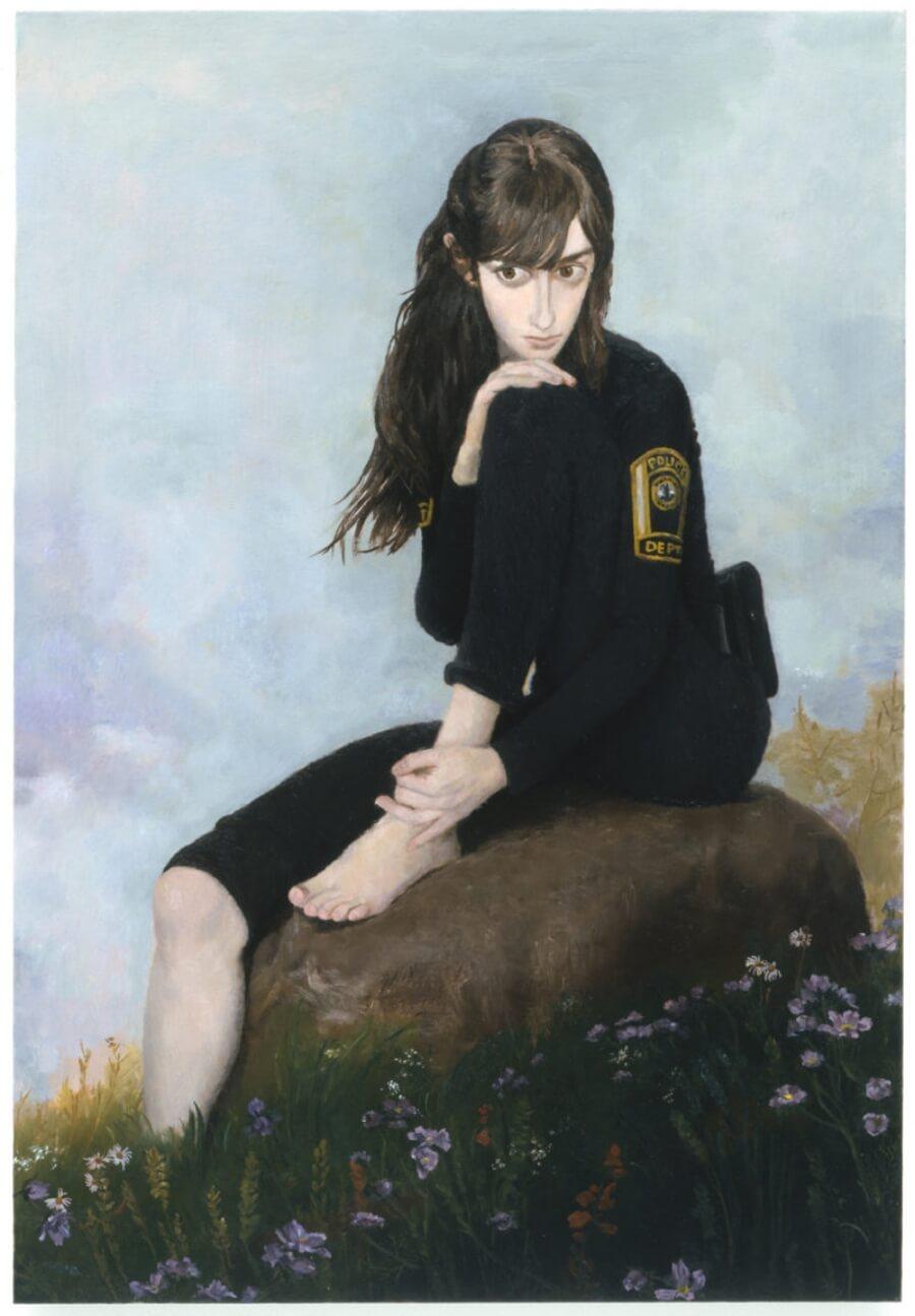 Jonsson Steger muestra el power femenino en sus pinturas