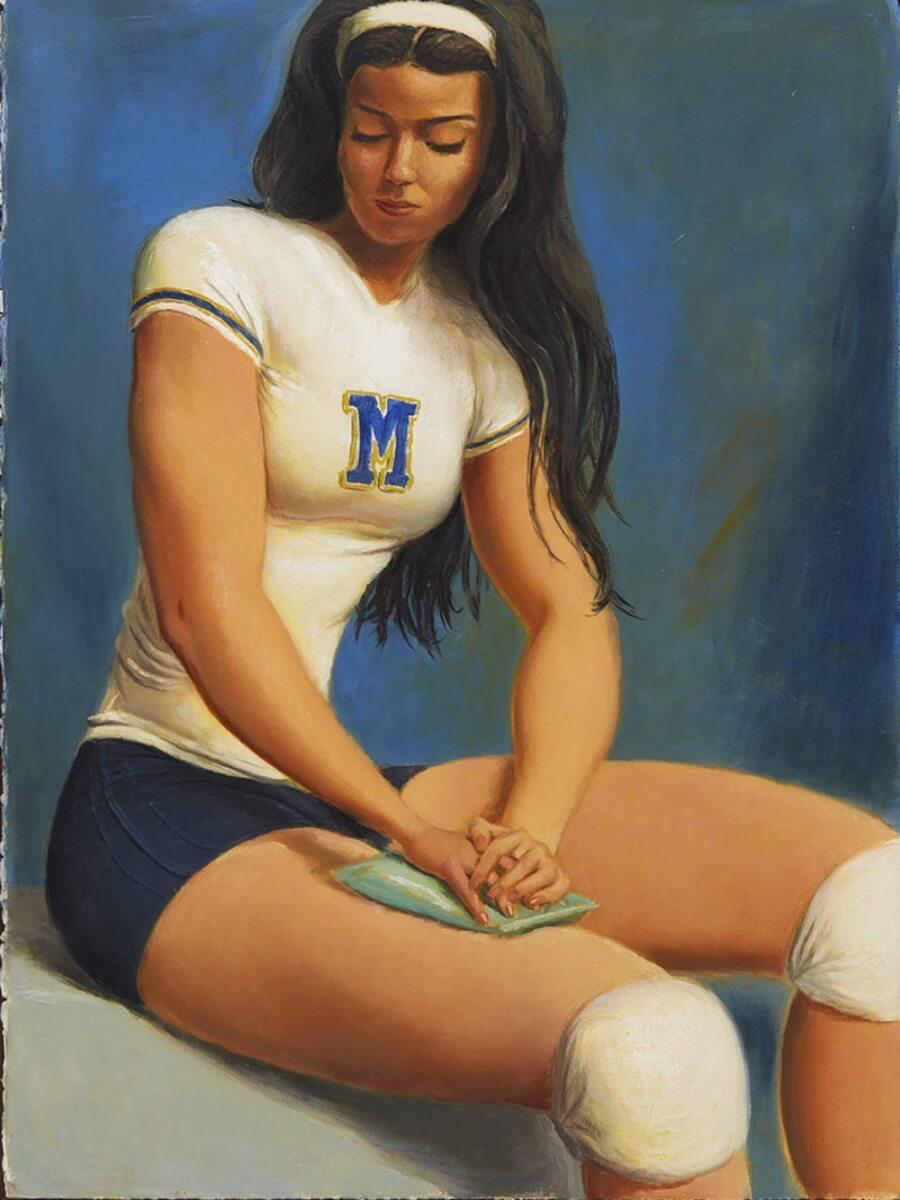 Jansson Stegner muestra el power femenino en sus pinturas