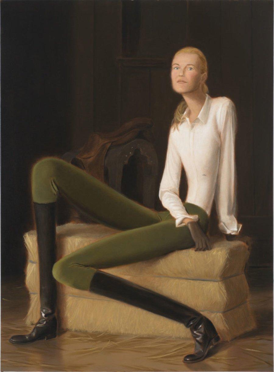 Jonsson Stegner muestra el power femenino en sus pinturas