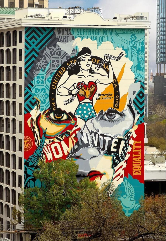 Las mejores piezas de street art de marzo