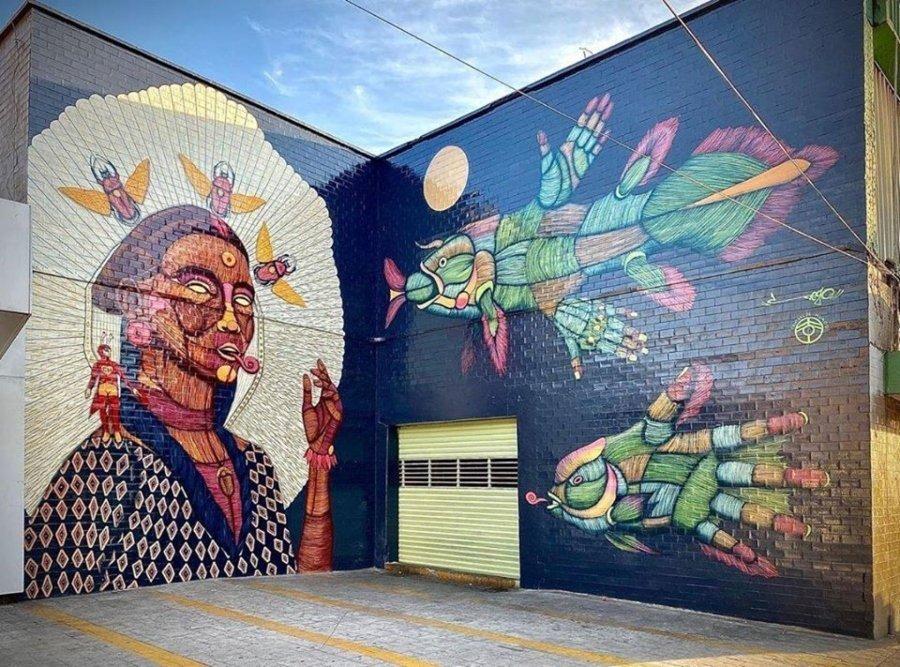 Los murales del mes de marzo