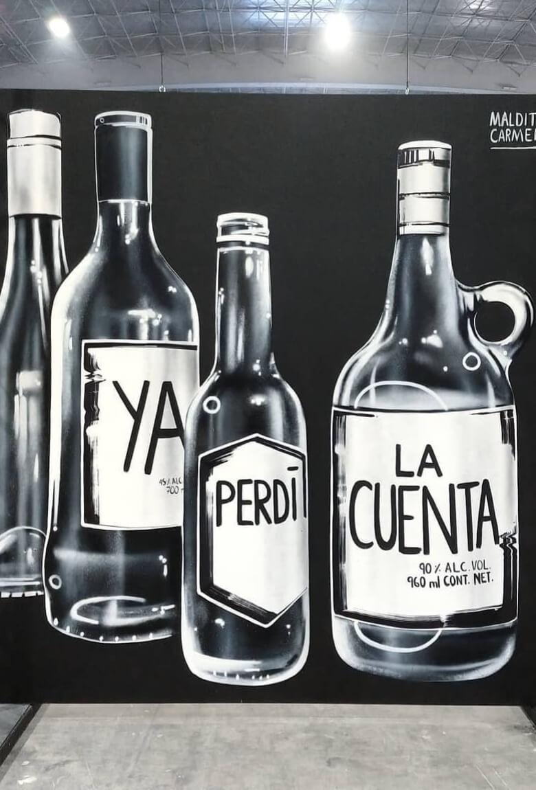 Maldita Carmen, de la ilustración al street art