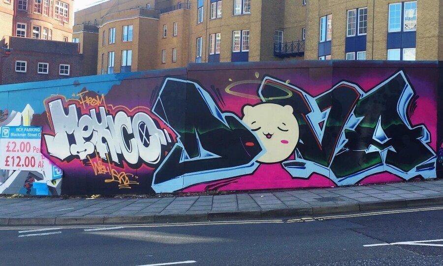 Women in graffiti