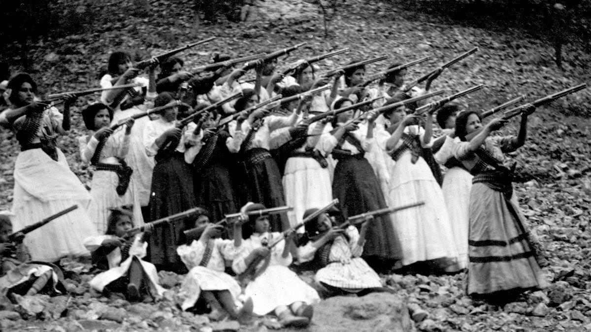 guerrilleras en la Revolución
