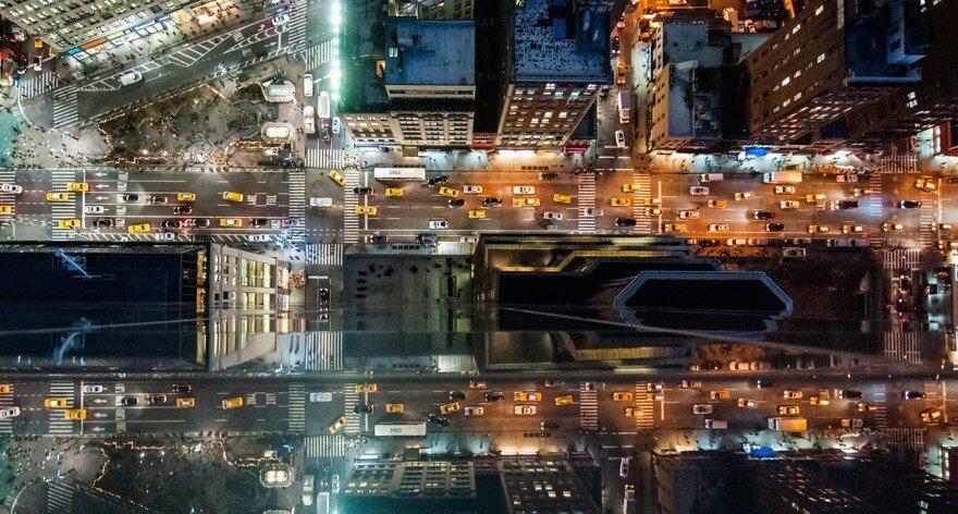 Navid Baraty y perspectivas aéreas de Nueva York
