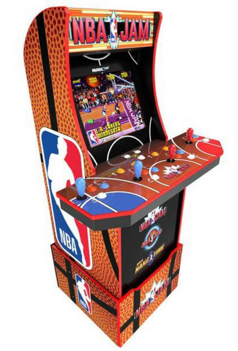 NBA Jam will release Arcade cabinet to the public