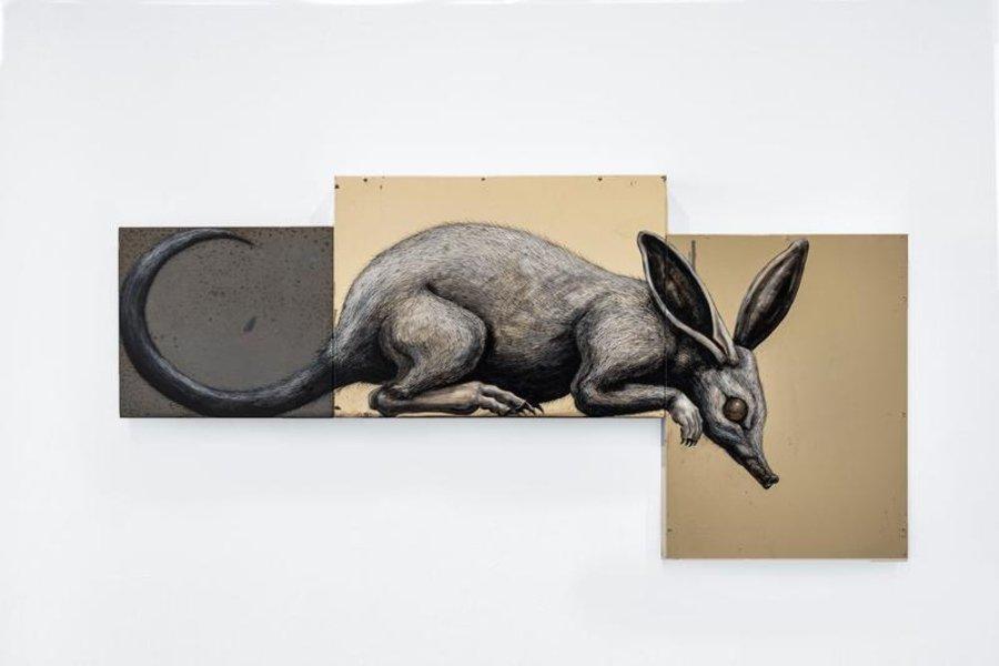 ROA presentará nueva exposición en Backwoods Gallery