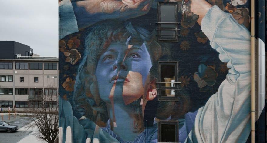 Telmo Miel tienen nuevo mural en Bélgica