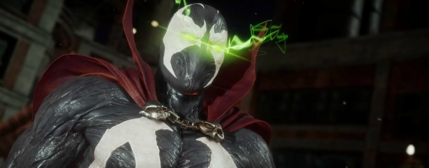 The Joker and Spawn take Mortal Kombat