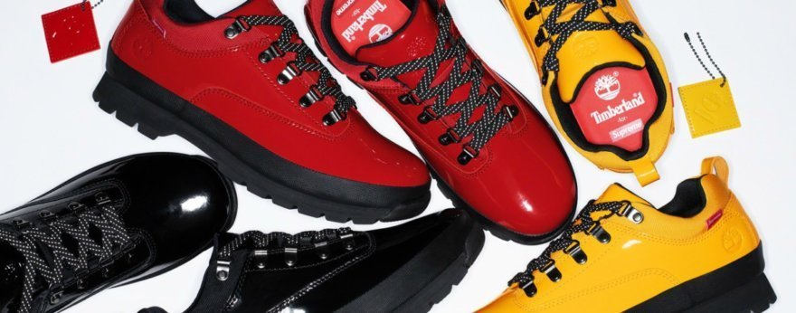 Timberland y Supreme lanzan colección colorida
