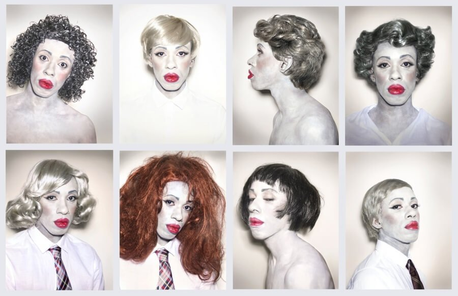 trans y drag queens es la obra de Andy Warhol